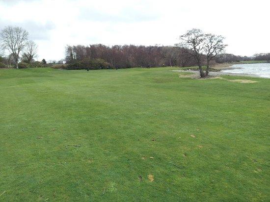 Killarney Golf & Fishing Club: Approach to 1st green