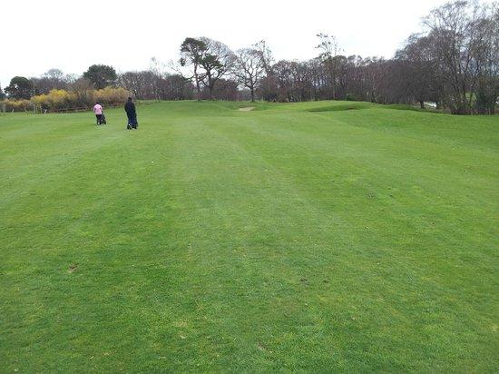 Killarney Golf & Fishing Club: Approach to 2nd green