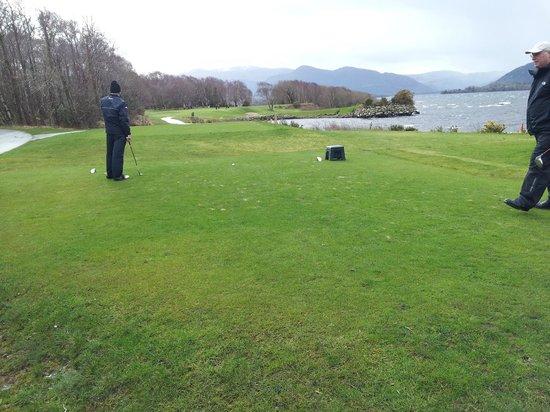 Killarney Golf & Fishing Club: Par 3 thrid from tee