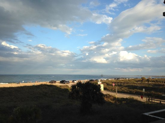 The Saint Augustine Beach House: View from my deck, it does not get any better than this