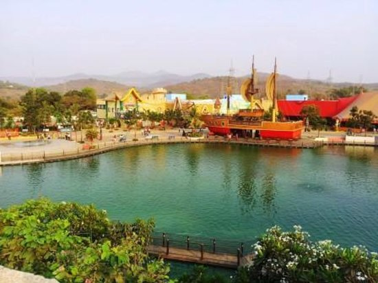 Imagica Theme Park: View from one side