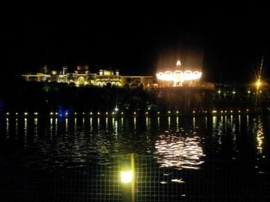 Imagica Theme Park: Night view from Armada Restaurant
