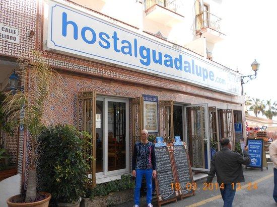 Hostal Guadalupe: Extérieur de l'hôtel