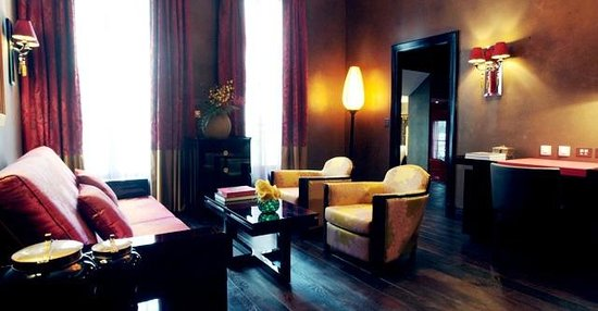 Buddha-Bar Hotel Paris: Cozy Prestige Suite