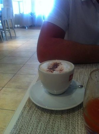 Hotel Juliani: excellent cappuccino