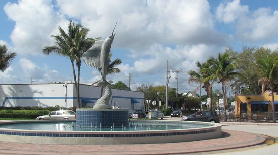 ‪‪Stuart‬, فلوريدا: Sailfish Fountain, Downtown Stuart FL‬