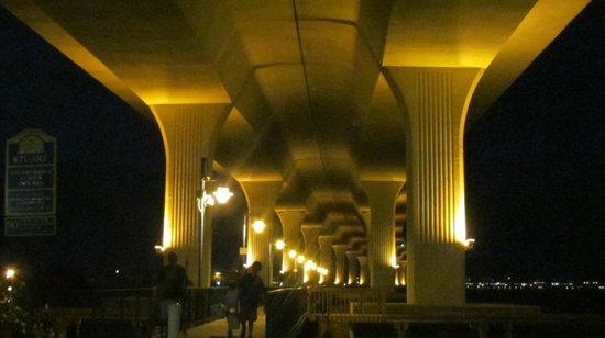 Riverwalk: Beautiful Roosevelt bridge, Stuart FL