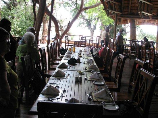 Chobe Safari Lodge: Restaurant Area