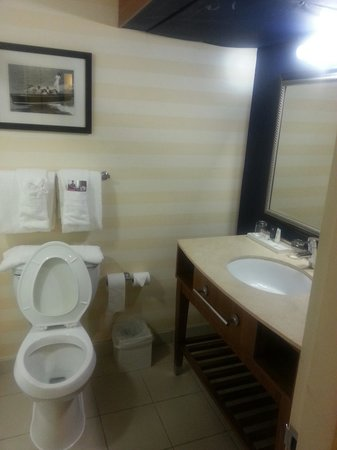 Crowne Plaza Hampton Marina : Clean bathroom