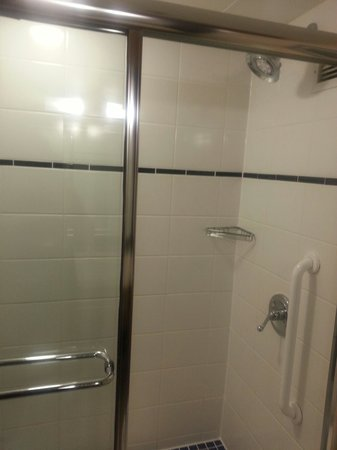 Crowne Plaza Hampton Marina : Clean bathroom/shower area