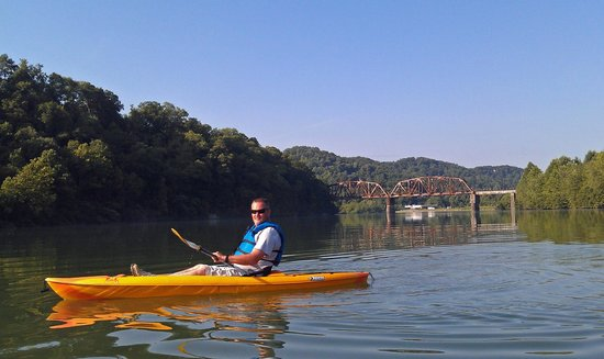 Adventures Outdoors Kayak & Bike Rentals: Ken, first time kayaking