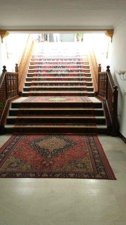 TRH Mijas: Staircase in Hotel