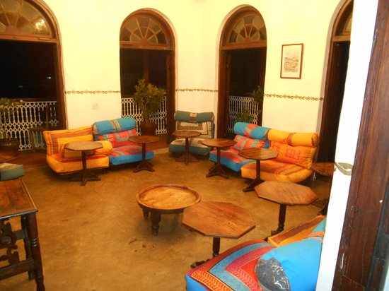 Zanzibar Coffee House: Rooftop dining room