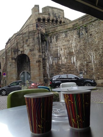 ibis Styles Saint-Malo Centre Historique : La terrasse