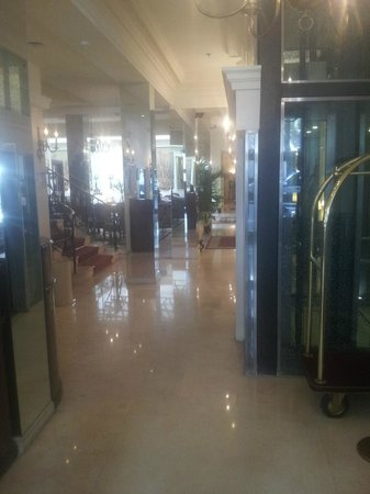 Melia Recoleta Plaza : Lobby del hotel