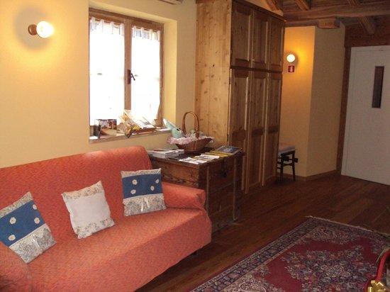 Corte dei Toldi: zona di passaggio della residenza prima dell'accesso alle suite