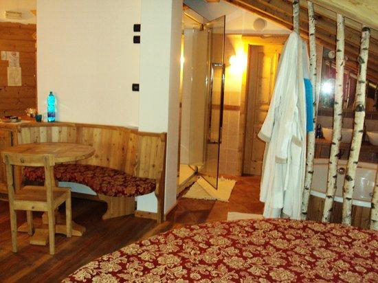 Corte dei Toldi: cabina multifunzione suite Archimede