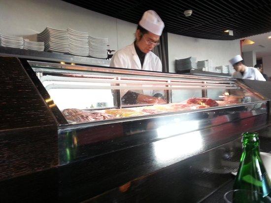 Palace Sushi Zen : sushi bar