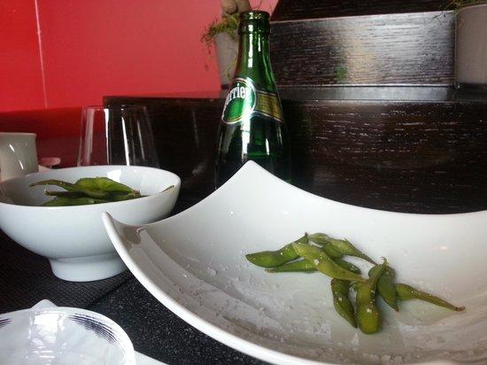 Palace Sushi Zen : edamame