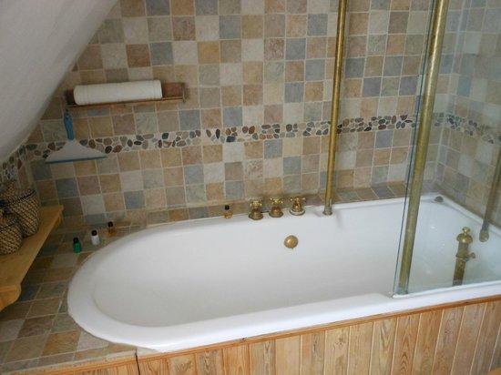 Chiltern Valley Bed & Breakfast: Huge antique bath