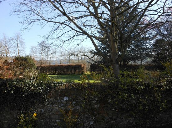Chiltern Valley Bed & Breakfast: View from farmhouse door