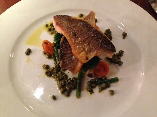 The Arden Hotel: Sea Bass..