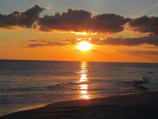 Destin RV Resort: Sunset on Miramar Beach