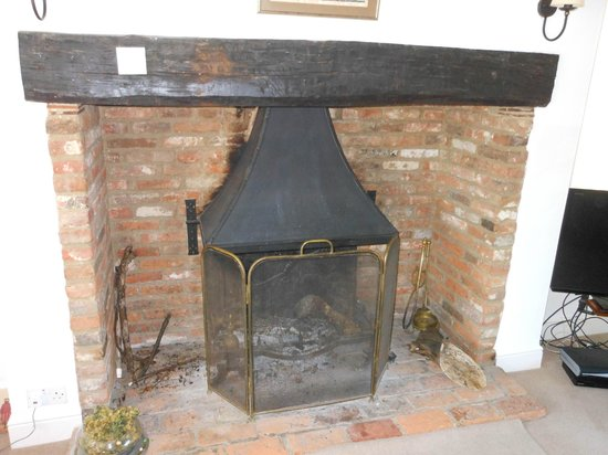 Chiltern Valley Bed & Breakfast: Sitting room fire