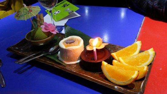 Zaibatsu: Delightful desserts!