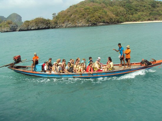 Orion Boat Trips - Day tours: longtail to the beach