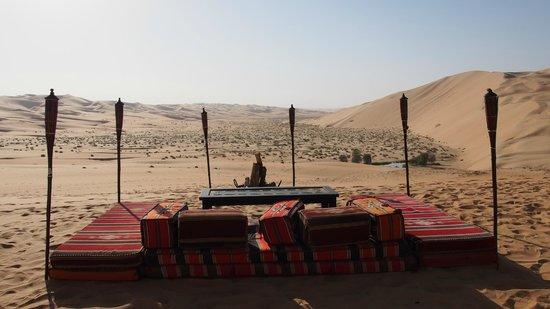 Qasr Al Sarab Desert Resort by Anantara: Dinnerplace