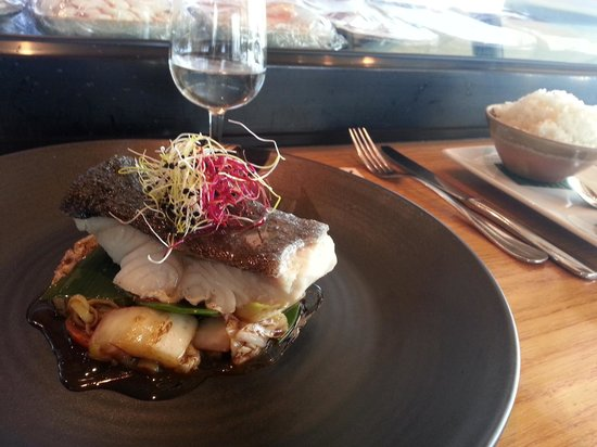 Myo Sushi Bar : Black Cod - heavenly!