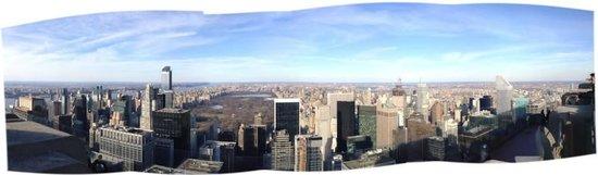 Rockefeller Center: Iniciação em foto panorâmica...