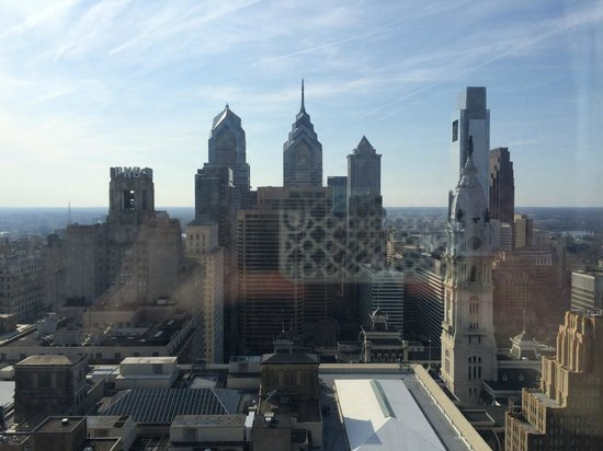 Loews Philadelphia Hotel: View from our hotel room.