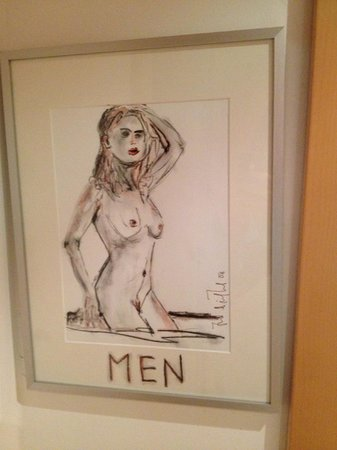 "Kristiana: Some of the ""classy"" ""art"" on display that guests have to tolerate"