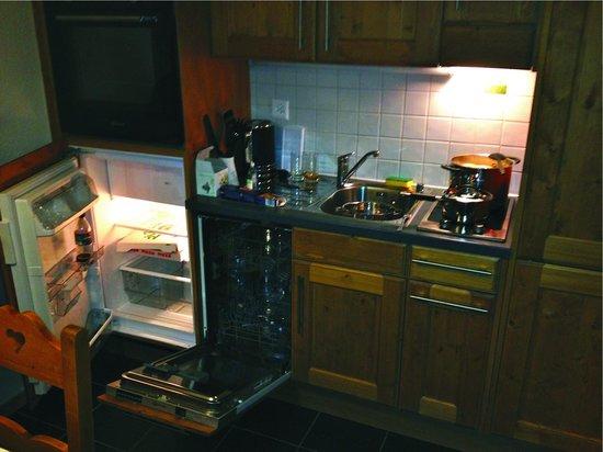 Thermes Parc: Cozinha
