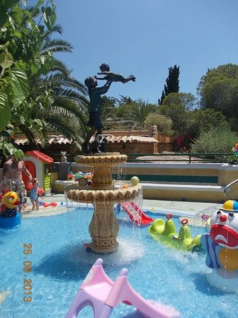 Park Playa Bara: piscina bimbi 0-2 anni