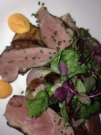 Salt Water Cafe : breast of duck entree for less than $7US