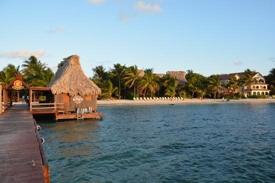Ramon's Village Resort: the dive center and views of the beach!!