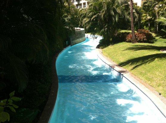 The Grand Mayan Nuevo Vallarta: lazy river