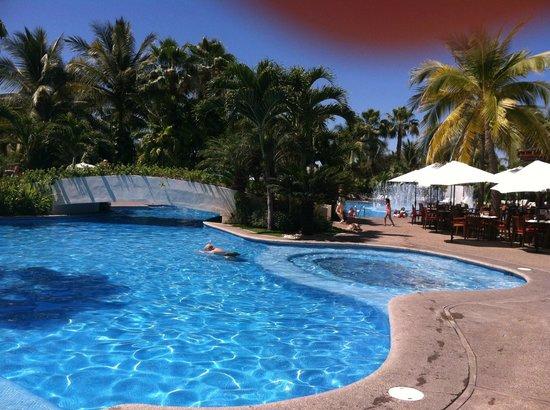 The Grand Mayan Nuevo Vallarta: one of the pools