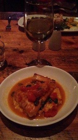 Hobnob Kitchen & Bar: Snapper in Crazy Water - YUM!!!