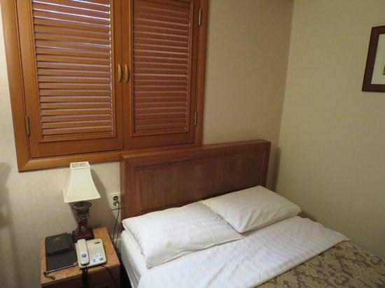Benikea Noble Hotel : 大きめの窓