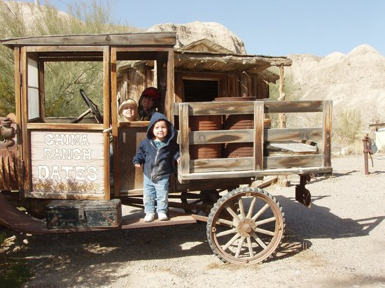 China Ranch Date Farm: The old Ford