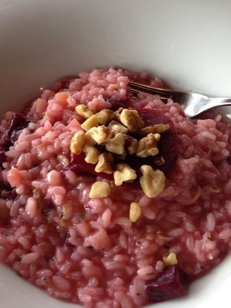 Old Vines Restaurant : Beetroot Risotto