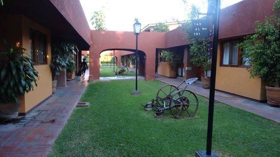 Hacienda La Noria: cour interieur