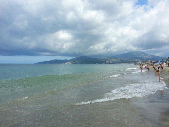 Villaggio Olimpia: Mare