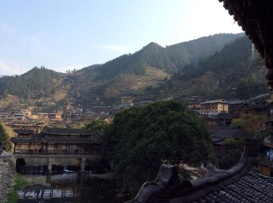 Miao Village : view from my hotel room