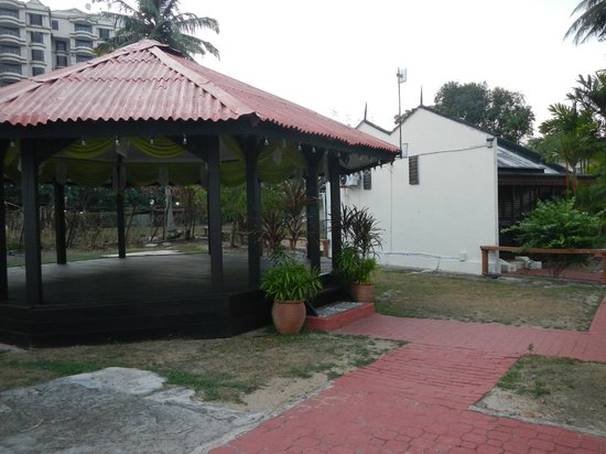 Shah's Beach Resort: BBQ and open concept function area