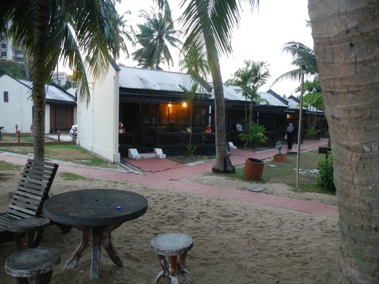Shah's Beach Resort: from the waterfront